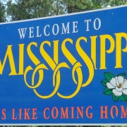 Sign seen upon entering Mississippi