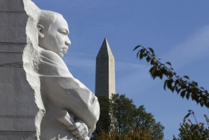 The Martin Luther King Jr. Memorial in DC